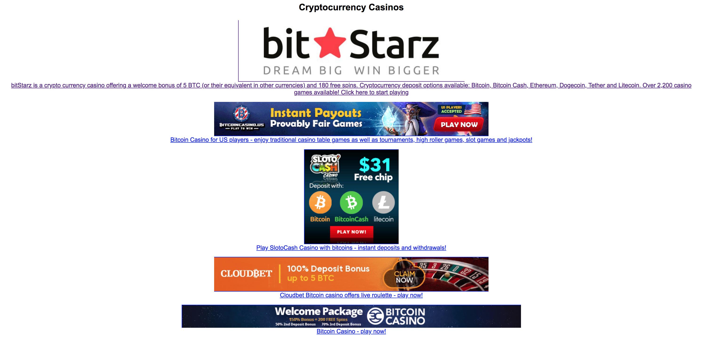 Nowe strony kasyn bitcoin bez opcji gamestop